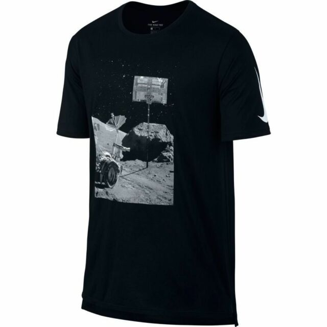 NWT NIKE MEN/'S BLACK DRY MOONSHOT BASKETBALL TEE SZ M /& L 857932 010