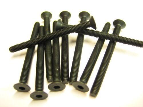 10x Stahl Senkkopfschrauben M3x40 DIN7991 10.9 Senkschraube