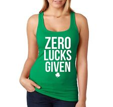 Irish Ireland Pride Shamrock Four Leaf Green Clover Boy Beater Tank Top