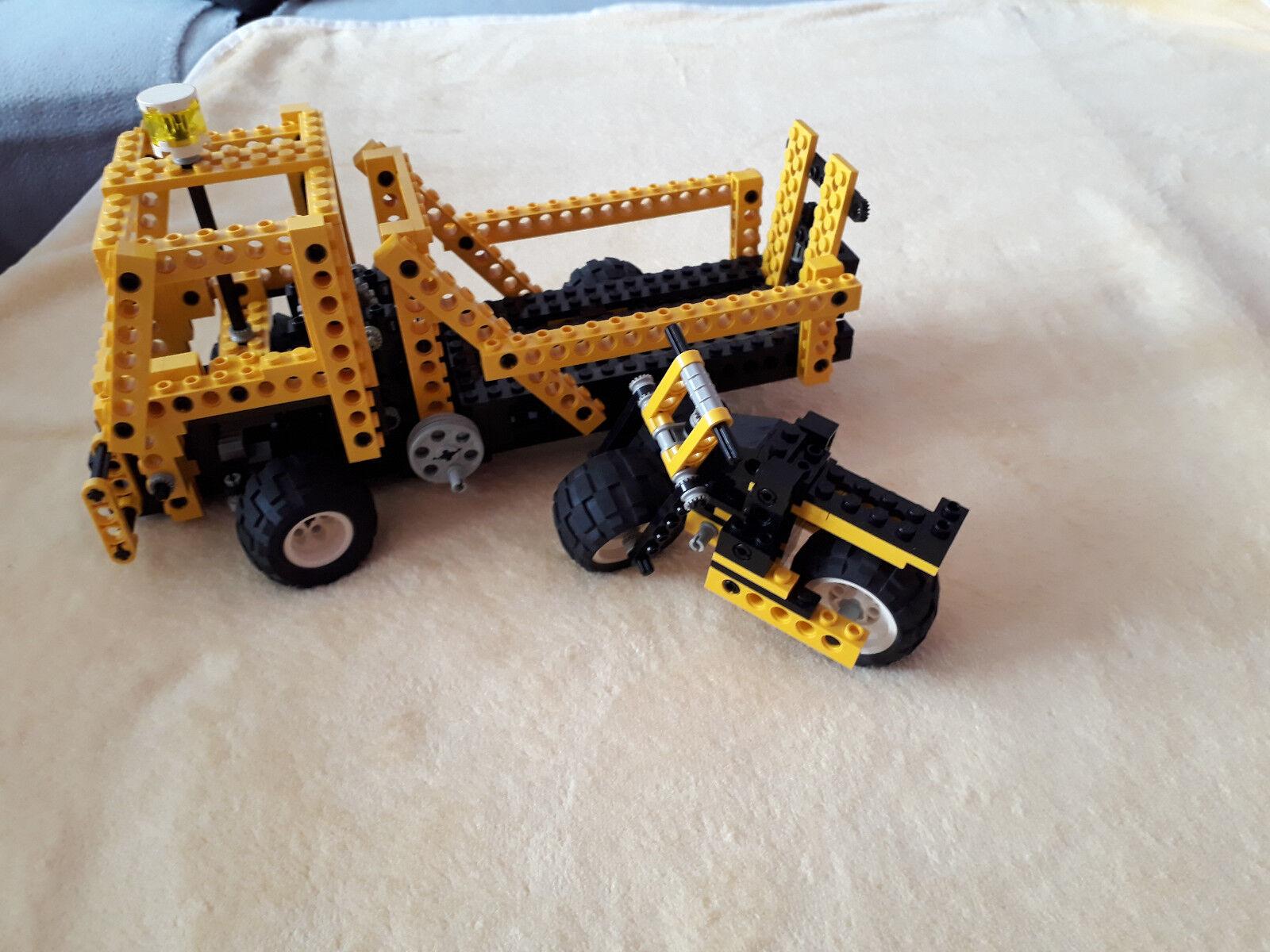 Lego Technic LKW LKW LKW mit Motorrad 8062 9efb07
