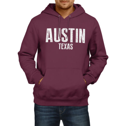 Austin Texas American State Hoodie Mens Womens Boys Girls USA Football Baseball