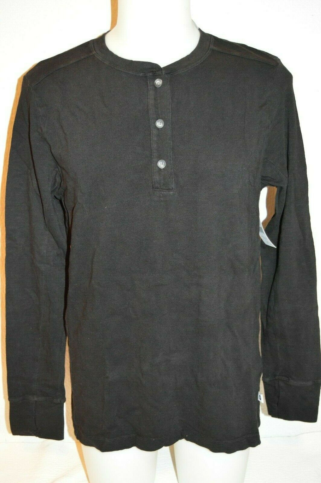 VIMMIA Premium Man's Long Sleeved T-hemd Henley NEW Größe groß  Retail  110