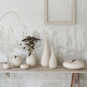 Vasi Da Tavolo.Dettagli Su Vasi Da Tavolo Per Fiori Linea Asa Colore Beige H 46 33 5 12 5cm Design Salotto
