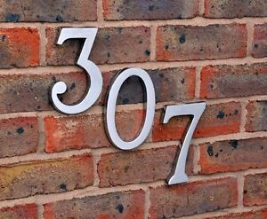 Image is loading 6-034-Large-Size-Door-Numbers-Heavy-Bright- & 6