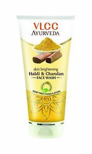 VLCC-Ayurveda-Skin-Brightening-Haldi-amp-Chandan-Face-wash-100ml-Soap-Free-Formula