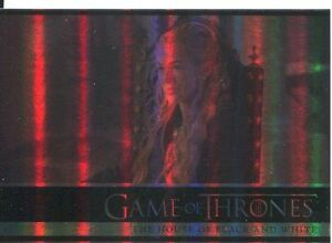 Game Of Thrones Season 5 Foil Parallel Base Card #6 The House of Black and White