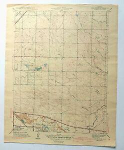Aurora Denver Colorado Vintage 1941 Long Branch Usgs Topo Map