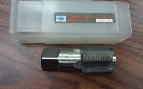 """1-1//4/""""-11-1//2 NPT Tap,Taper Pipe Tap M2 high speed steel,5 flt #NPT-1-14-new"""