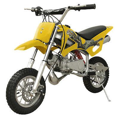 FREE SHIPPING KIDS 49CC 2 STROKE GAS MOTOR DIRT BIKE MINI POCKET BIKE DB49A