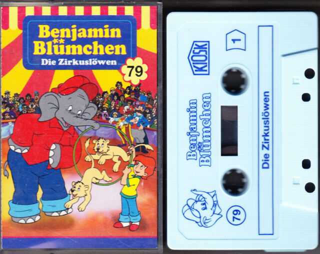 MC Benjamin Blümchen 79 - Die Zirkuslöwen - KIOSK C2 mit Werbeflyer