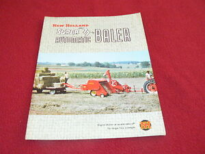 New Holland Baler Cover for Model 77 Baler Dealer/'s Brochure