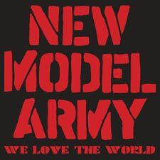 New Model Army(CD/DVD Album)We Love The World-Secret-SECDP070-UK-New & Sealed/