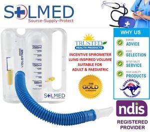 INCENTIVE SPIROMETER VOLDYNE® BREATHING INSPIRED LUNG EXERCISER 2500ML
