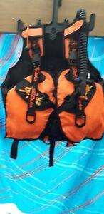 Unused-Seapeks-Retro-Vintage-BCD-Size-XL-Scuba-Diving