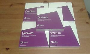 Microsoft-One-Note-Non-Commercial-2013-DVD-x-5-pcs-factory-sealed