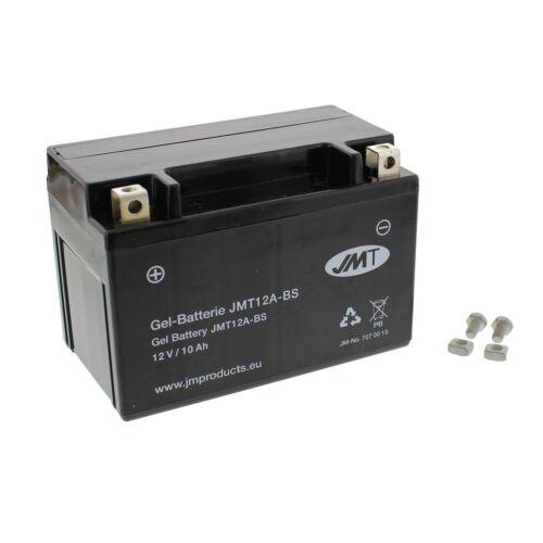 Jmt Gel Batterie yt12a-bs Kymco K-XCT 300i d80 Année de construction 2013-2015