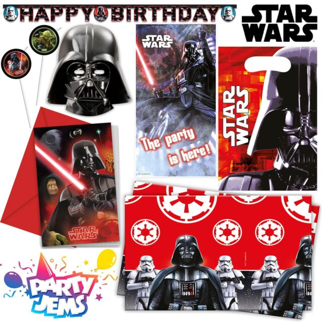 Star Wars The Last Jedi Childrens Birthday Party Bags Storm Trooper Tableware