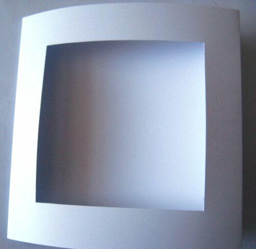 """Tarjetas De Apertura 144mm//5.5/"""" Sq 3 veces con sobres de su elección de colores y tamaño del envase"""