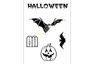 Verantwoordelijk Halloween Stencil Variety Mix A4/a3/a2/a1/a0 350 Micron Hall004