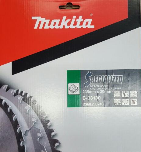 Makita cercle scie specialized 235 x 30 MM BOIS-Lame de scie 24 dents b-33130