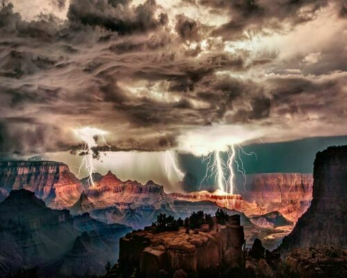 National Parks Grand Canyon Park USA Scenery Painting Paint By Numbers Kit DIY