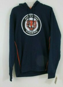 brand new 26172 bbc73 Details about NEW ~ Detroit Tigers Pullover Hoodie. Majestic Cooperstown  Collection. sz: Large