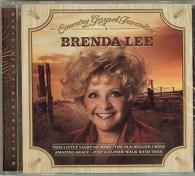 BRENDA LEE - COUNTRY GOSPEL FAVORITES - CD - NEW