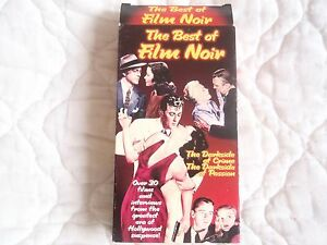 THE BEST OF FILM NOIR VHS DOCUMENTARY CLASSIC MOVIE TRAILERS ACTION