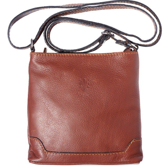 baaa3aff58e1 Crossbody Bag Italian Genuine Leather Hand made in Italy Florence 8685 br