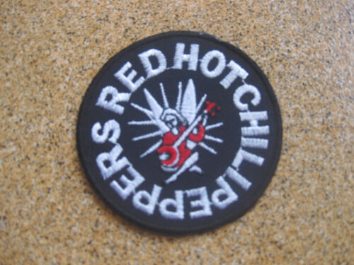 red hot chili peppers musique Ecusson Broder Patch 7x7 cm