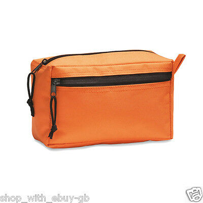 UNISEX TOILETRIES COSMETIC TRAVEL WASH BAG - COMPACT HOLIDAY MAKE UP BAG