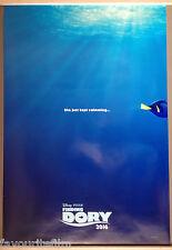Cinema Poster: FINDING DORY 2016 (Advance One Sheet) Ellen DeGeneres Idris Elba