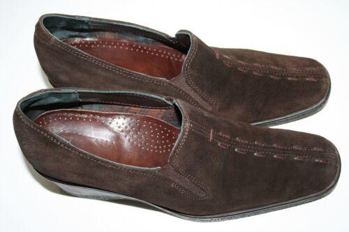 5 5 5 Zeppe tacco 2 Heels Eu37 pelle Aquatalia marrone Bromley in scamosciata Russell uk4 qFxpBOW