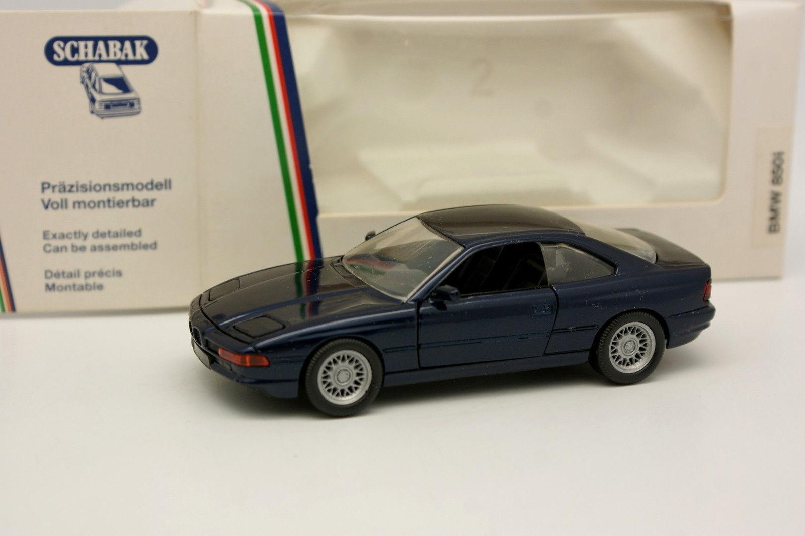 Schabak 1 43 - BMW 850 bluee I
