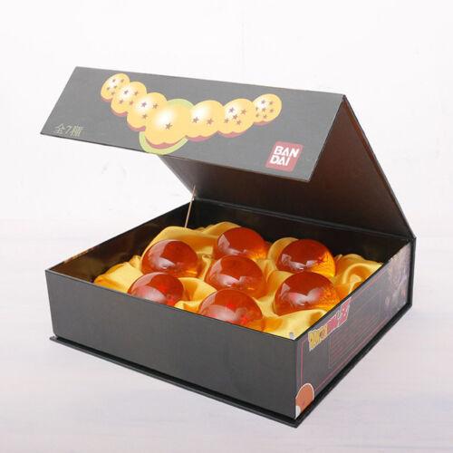 1set 7 Stars Crystal Balls 3.5CM Dragon Ball Z Set Box 7 Pcs Complete New Gift H