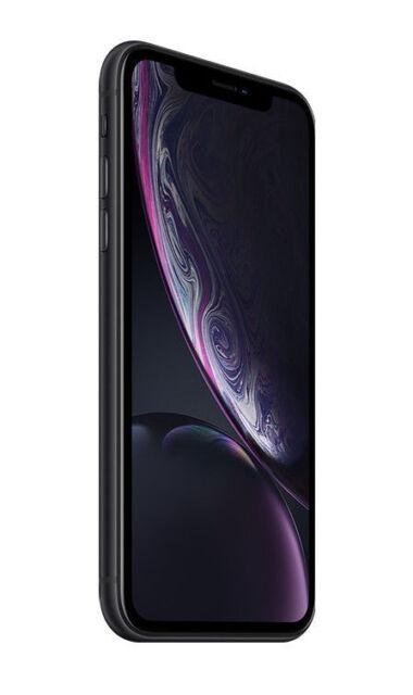 Apple iPhone XR - 128GB - Black (Unlocked) A1984 (CDMA + GSM) (CA)