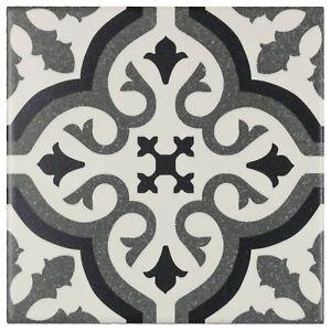 Modern-Square-Black-Grey-White-Porcelain-Mosaic-Tile-Backsplash-Wall-MTO0234