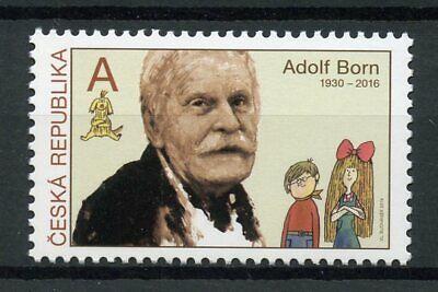 Gastvrij Czech Republic 2019 Mnh Adolf Born Stamp Designer 1v Set Philately Art Stamps