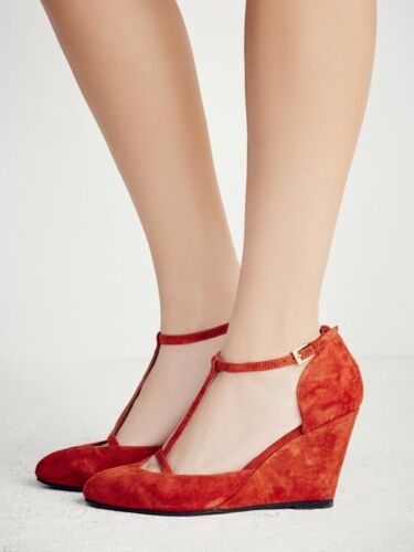 New Free People Jeffrey Campbell Eyes On You Wedge Size 6 Msrp: $148 Suede