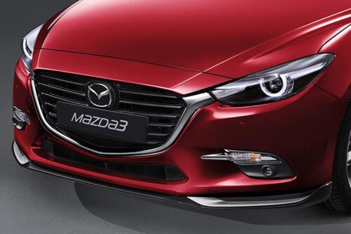 MAZDA 3 DOOR SILL TRIM SCUFF PLATES Kicker NEW SET 2014-19 GENUINE Part Sedan HB