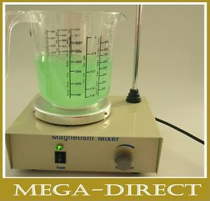 6042-Magnetic-Stirrer-Magnetische-Mixer-Magnetruhrer-UK-Plug