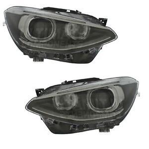 BMW 1 Series F20 2011-2017 Projector Xenon Look Angel Eye LED Headlights Lamps