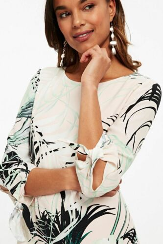 Dress Print Shift Wallis Palm Monochrome 14 wnI7HZPq