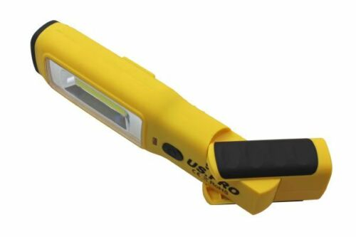 US PRO Jaune Noir Super Bright Magbender Light-Inspection-Lumière DEL Torche