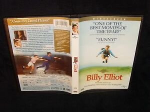 Billy-Elliot-DVD-2001-Mint-Disc-Real-USA-Made-No-Scratches