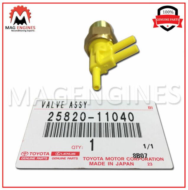 NO.1 25820-11040 2582011040 Genuine Toyota VALVE BIMETAL VACUUM SWITCHING