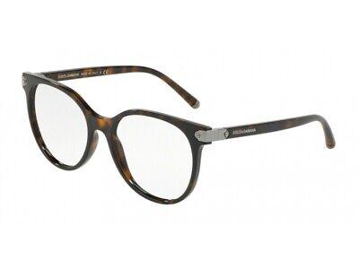 Generoso Montatura Occhiali Da Vista Dolce & Gabbana Autentici Dg5032 Havana 502 Essere Distribuiti In Tutto Il Mondo