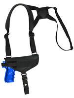 Barsony Cross Harness Gun Shoulder Holster Ruger Star Full Size 9mm 40 45