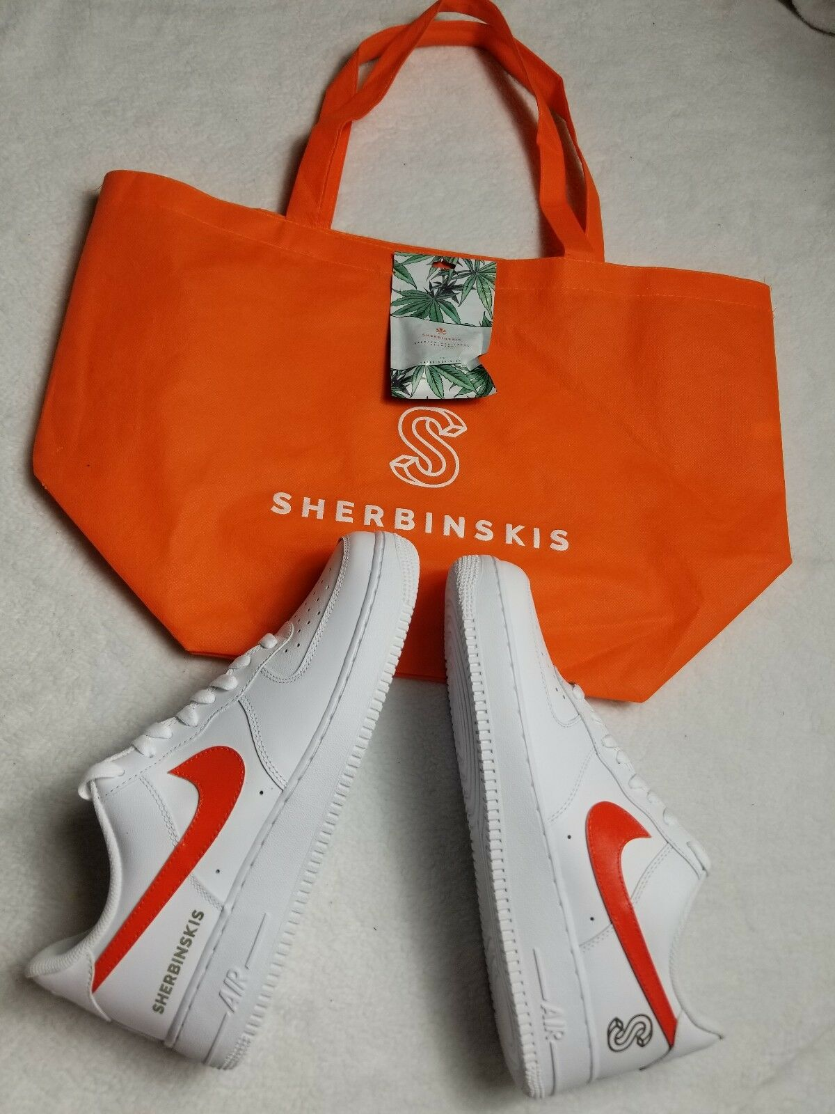 Sherbinskis Air Force 1 Bespoke Complexcon exclusive Sz 10
