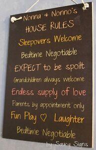 Grandparents-House-Rules-Black-Kids-Cute-Nonna-Nonno-Italian-Wall-Sign